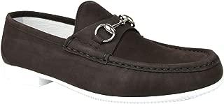 Moccasin Suede Horsebit Loafer 337060 BHO00