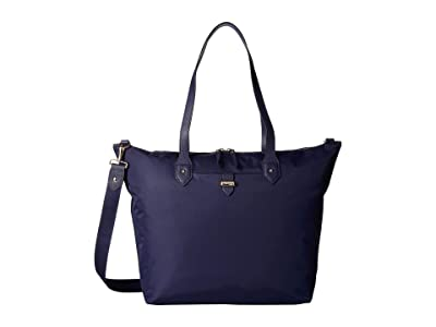 Lipault Paris Plume Avenue Travel Tote Bag (Night Blue) Bags