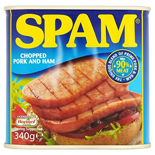 Spam Chopped Pork and Ham, 340g