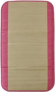 イケヒコ い草 ごろ寝マット 国産 『さわやか R縁Jrマット』 ピンク 約70×120cm 7514359