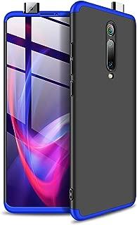 Xiaomi Mi 9T/K20/K20 Pro ケース MYLBOO [3 in 1] 360度フルボディプロテクション、[アンチスクラッチ] [耐衝撃]Xiaomi Mi 9T/K20/K20 Pro 用マットウルトラスリムPCハードケース(ブラック+ブルー)