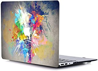 """AQYLQ MacBook Pro 13 inch Case 2020 Release (Models:A2251/A2289), Plastic Hard Shell Case Compatible with MacBook Pro 13,3"""" with Touch Bar, Colorful Bulb R21"""