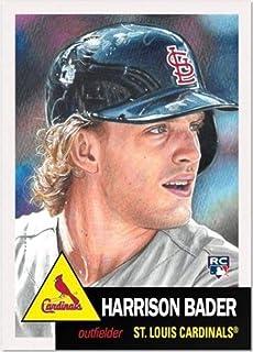 Louis Cardinals Rookie Baseball Card 2018 Topps Heritage #136 Harrison Bader//Jack Flaherty St