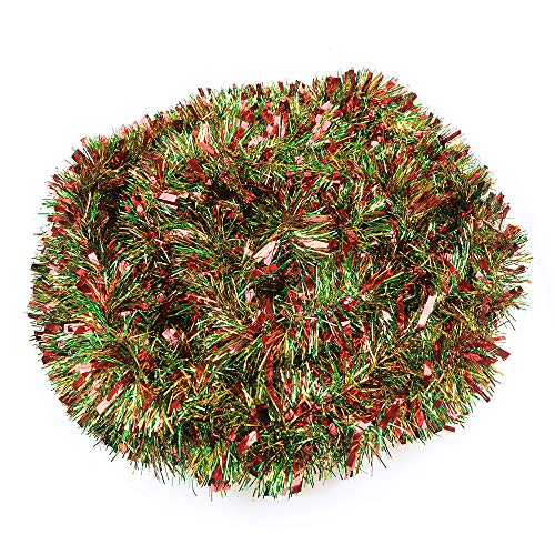 DIYASY 10M Christmas Tinsel Garlands Christmas Chunky...