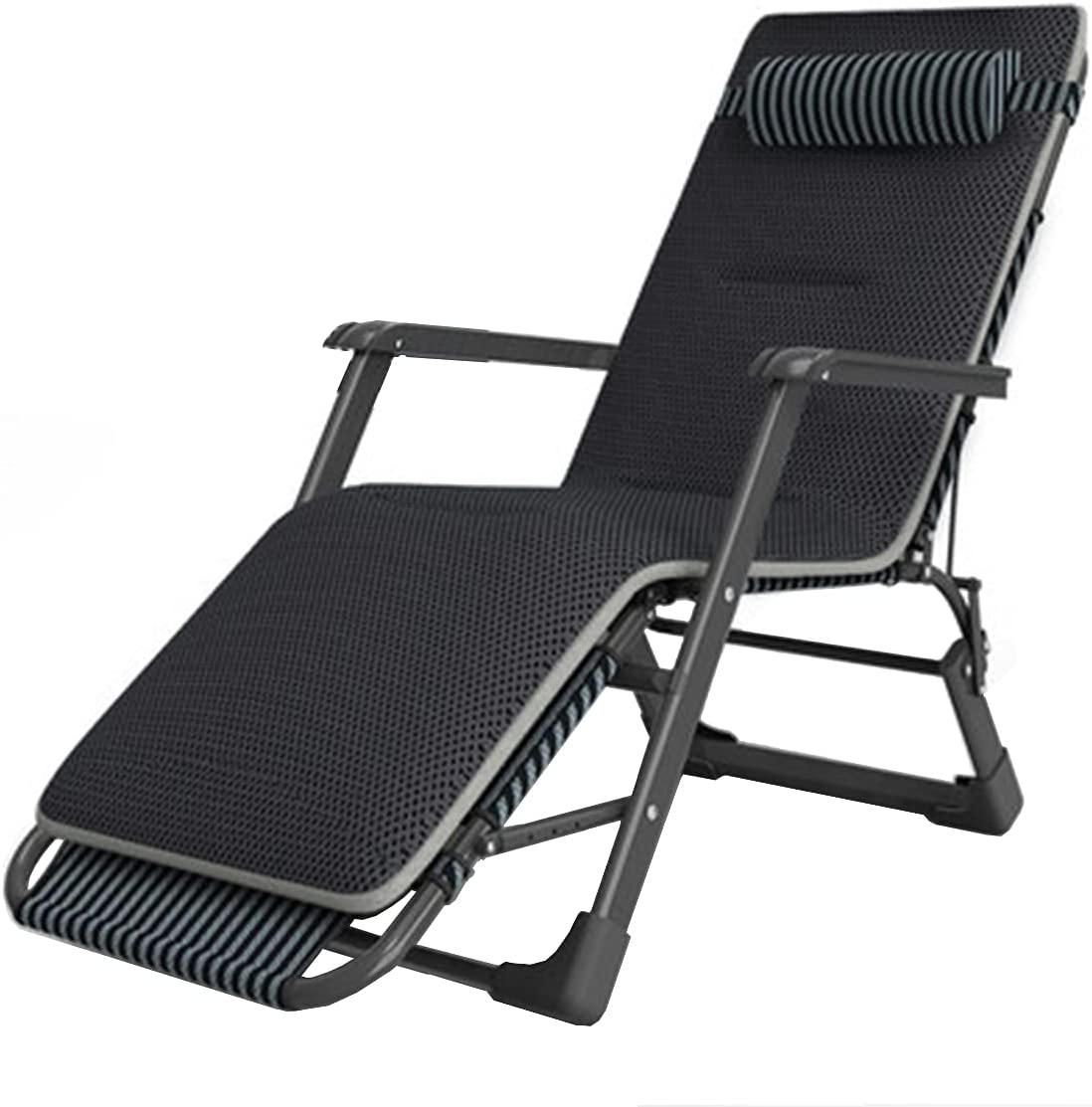 Outdoor 5% OFF Adjustable Folding Lounge Chair Patio Reclining with Max 78% OFF He