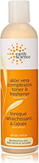 Earth Science Aloe Vera Complexion Toner & Freshener, 8 fl. oz. (Pack of 5)