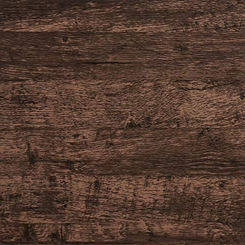 Wood Wallpaper Brown Dark Wood Contact Paper Brown Wood Plank Wood Peel and Stick Wallpaper Removable Rustic Wood Grain Self Adhesive Vintage Distressed Texture Desk Cabinet Vinyl Roll17.7'x78.7''