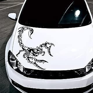 Car Decals Hood Decal Vinyl Sticker Scorpio Tribal Tattoo Auto Decor Graphics OS137