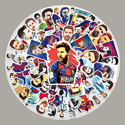 YCYY 51 Barcelona Star Lionel Messi Graffiti Stickers Laptop Suitcase Scooter Car Trim Stickers