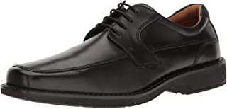 Men's Seattle Apron Toe Tie Oxford, Black/Black, 44...