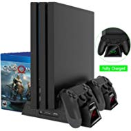 OIVO Regular PS4/ PS4 Slim/ PS4... OIVO Regular PS4/ PS4 Slim/ PS4 Pro Cooler, Multifunctional Vertical Cooling Stand, PS4...