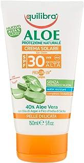 Equilibra Aloe Crema Solare Spf 30, 150 ml