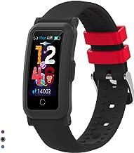 BingoFit Kids Fitness Tracker Horloge voor meisjes en jongens, Waterdichte Activity Tracker met Hartslag Slaap Monitor, Di...
