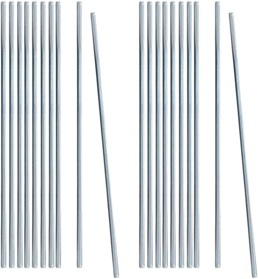 1,6 mm 20 STK yotijar Aluminiumlot mit Flussmittelkern L/ötschwei/ßst/äbe Niedrigtemp