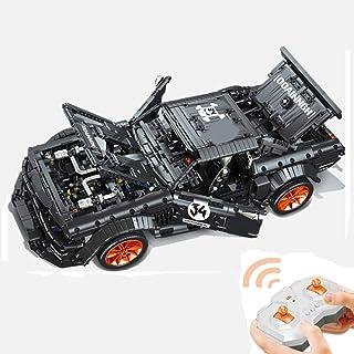 Tosbess Technic Auto Sportiva Ford Mustang, 2,4Ghz 1:10 RC Auto con Motore e Telecomando, 3181 Pezzi Blocchetti di Costruz...