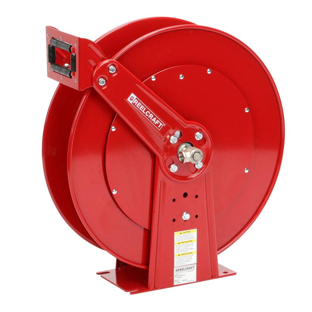 Reelcraft 81000 OLP Heavy Duty Dual Max 47% OFF Pedestal Hose 100' 70% OFF Outlet Reel Air
