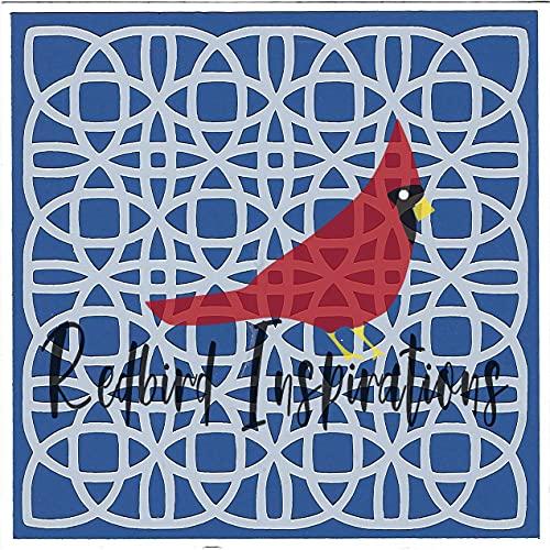 Redbird Inspirations Original Stencil, 6x6 Inch, Celtic Lace