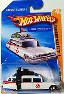 Hot Wheels 2010 New Models GHOSTBUSTERS ECTO-1 1959 Cadillac Wagon White