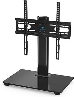 PERLESMITH テレビスタンド モニター台 移動式 3段目高さ調節可能 耐荷重40KGまで 37~55インチ対応 壁寄せテレビ台 頑丈な金属製 日本語取扱説明書付き