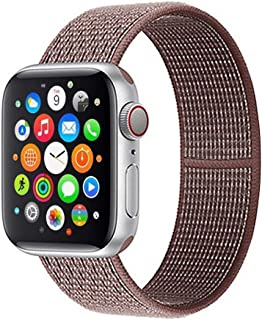 Compatible with for Apple Watch Band 38mm 40mm 42mm 44mm Soft Nylon Sport Loop Strap for Iwatch Series 5 4 3 2 2019 2018