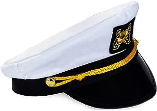 Captain Hat - Yacht Boat Sailing Fishing Captains Cap
