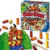 Ravensburger 22246 Billy Biber - Geschicklichkeitsspiel für ruhige Hände - Spiel für Kinder ab 4 Jahren, Familienspiel für 1-4 Spieler - magische Zauberfolie