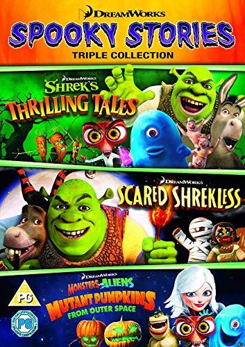 Dreamworks: Spooky Stories Collection (Scared Shrekless, Shrek's Thrilling Tales & Monsters vs Aliens: Mutant Pumpkins) (DVD) [2018]