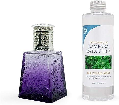 Antihumedades Pack lampara catalitica Purple 100 ml + Fragancia 200 ml (Waikiki Melon)