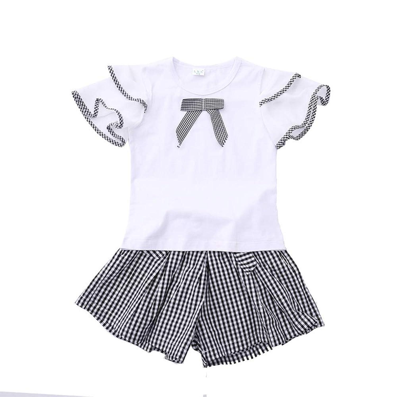子供のカジュアルスーツ、サマースクールのユニフォーム、子供の日のパフォーマンスの服、フラワーガールの服