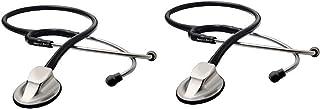 Stethoscope-Acoustic Professional Stethoscope- Cardiology Master Stethoscope (2PK)