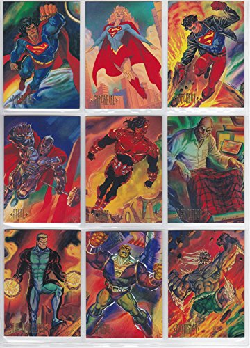 1994 DC Master Series Base Set of 90 Cards NM/M Batman, Superman, Green Lantern++