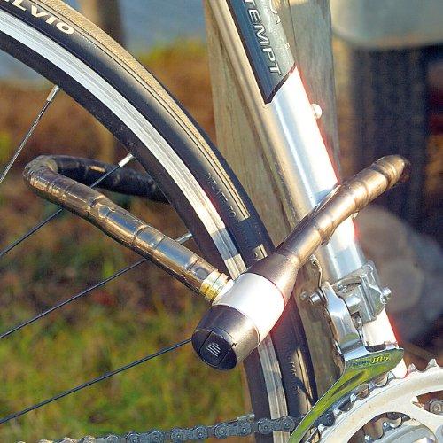 PEARL Kabel Fahrradschlösser: Stahl-Fahrradschloss mit spezialgehärtete 15mm Stahlhülsen, 80cm (Kabelschloss) - 2