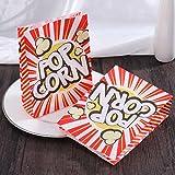 TOYMYTOY Popcorn Tüte Popcorn-Boxen Pappe Party Candy Container Karton Candy Taschen für Party,...