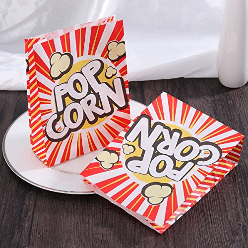 TOYMYTOY Popcorn Tüte Popcorn-Boxen Pappe Party Candy Container Karton Candy Taschen für Party, Geburtstage 48Pcs