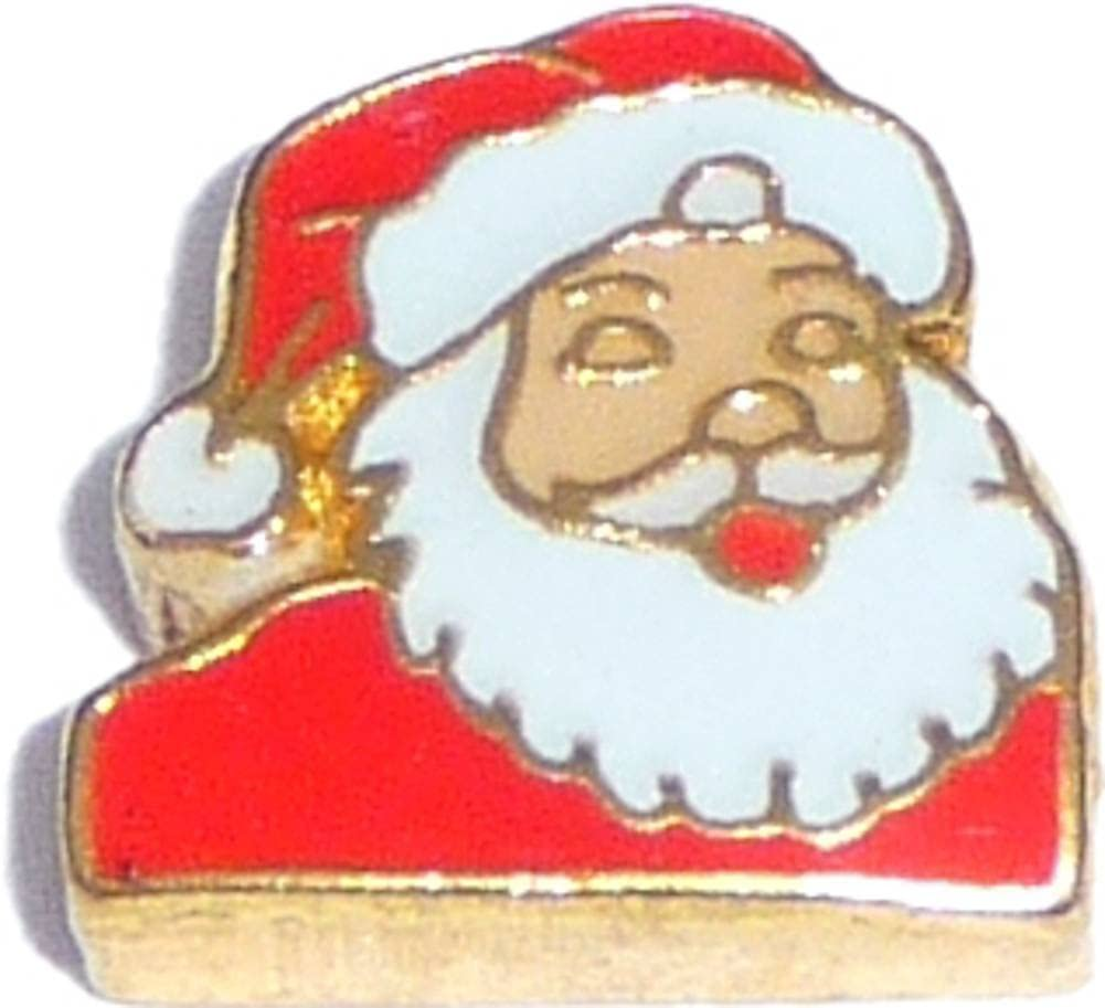 Popular standard Santa Floating OFFicial mail order Locket Charm