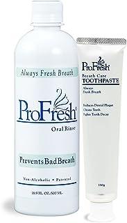 ProFresh (プロフレッシュ) プロフレッシュオーラルリンス・ペーストセット マウスウォッシュ