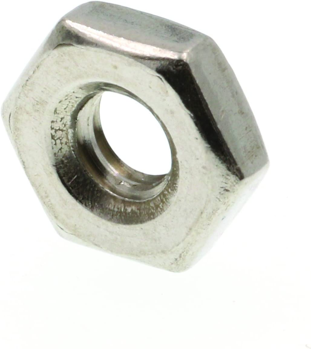 Pack of 5 nuts Bright Mild Steel Hexagonal Full Nuts Self Colour 1//2 BSW Hex