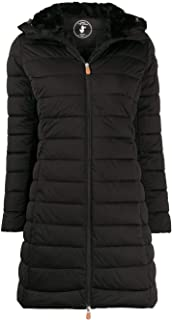 Save The Duck Luxury Fashion Womens D4403WSOLD900001 Black Coat | Fall Winter 19
