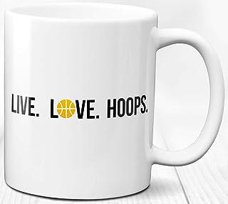 Taza de café para el entrenador amante del baloncesto Regalo 330 ml Taza de té de cerámica