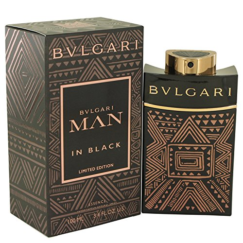 Bvlgari Man In Black Essence Eau De Parfum Spray By Bvlgari - 3.4 oz