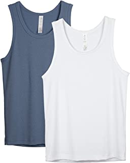 Sponsored Ad - icyzone Workout Tank Tops for Men - Athletic Tops Muscle Tank, Gym Running Exercise Shirts (Pack of 2)