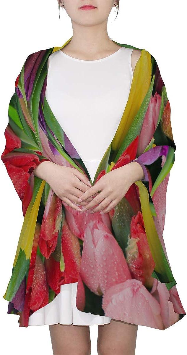 Scarf Wrap Shawl Fresh Spring Flowers Summer Fashion Scarfs For Women Lightweight Scarf For Men Lightweight Print Scarves Girls Shawls And Wraps Scarf Hanger
