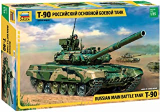 Zvezda Models 1/35 T-90 Russian Main Battle Tank