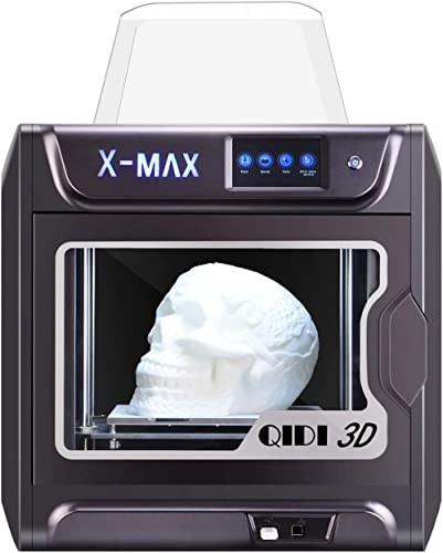 QIDI TECH Large Size Intelligent Industrial Grade 3D Printer New Model:X-max,5 Inch Touchscreen,WiFi Function,High Pr...