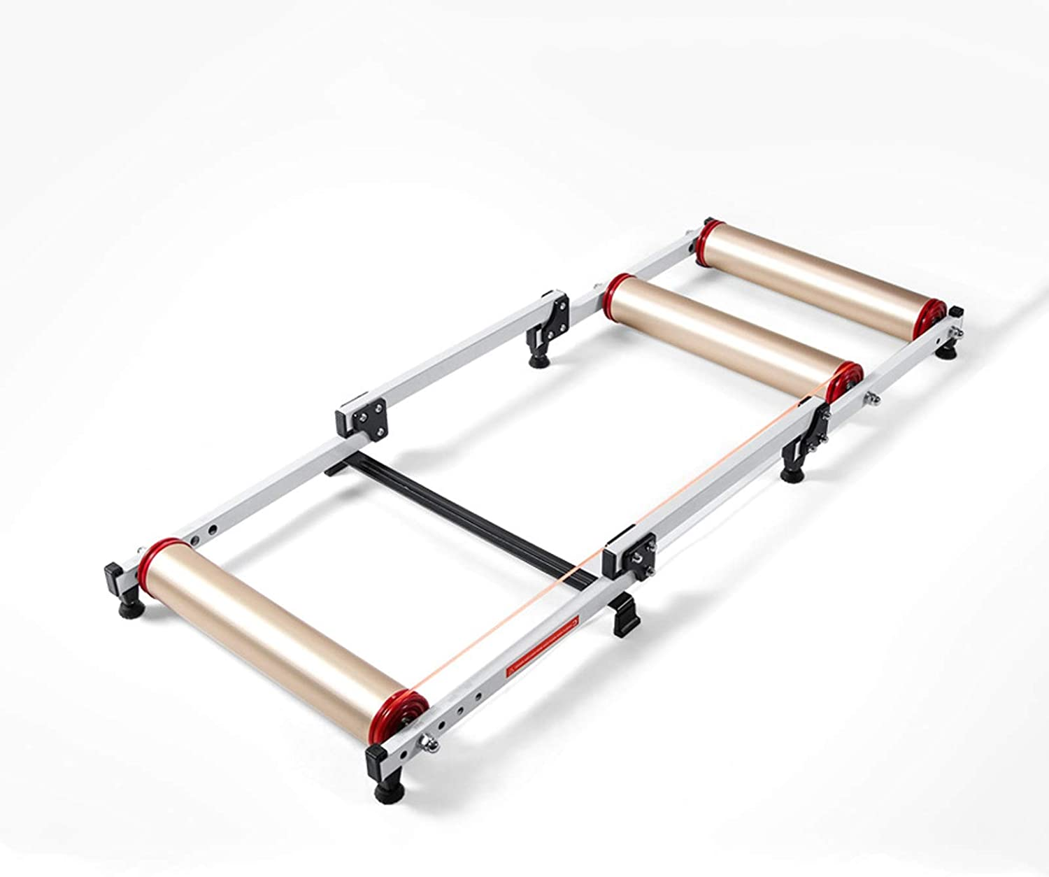 DSWHM Bike Trainer Super special price Stand Rollers Mail order cheap Foldabl