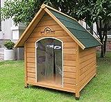 Pets Imperial® Sussex En Bois Moyen taille chien Chenil Avec Plancher Amovible Pour Un Nettoyage Facile A