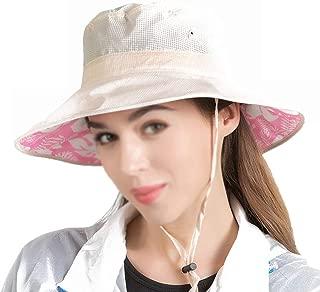 YSNRH Hat Sun Hat Men Women Summer Outdoor Waterproof Beach Hat Fishing Hat with Caps for Walking Hat Trekking Hat Sun Hat Foldable Adjustable Camping,Outdoor,Hiking,Summer (Color : White)