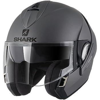 Taille M Shark Casque Moto Evoline Series 3 Fusion Mat KMA Noir