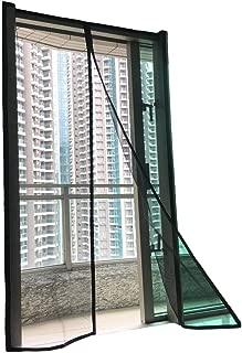 F.S. Luxurious Magnetic Screen Door Fiberglass [Upgraded] Mosquito Bug Off Screen Curtain Full Frame Hook and Loop Tape Mesh Insect Net Size 39x83 for Patio Door French Door Sliding Glass Door 38 x 82