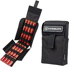 Kosibate HOT 25 Round Shotgun Shotshell Reload Holder Molle Pouch for 12 Gauge/20G (Black)
